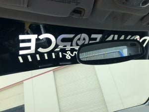 Image of Reverse Cut Window Shade Banners