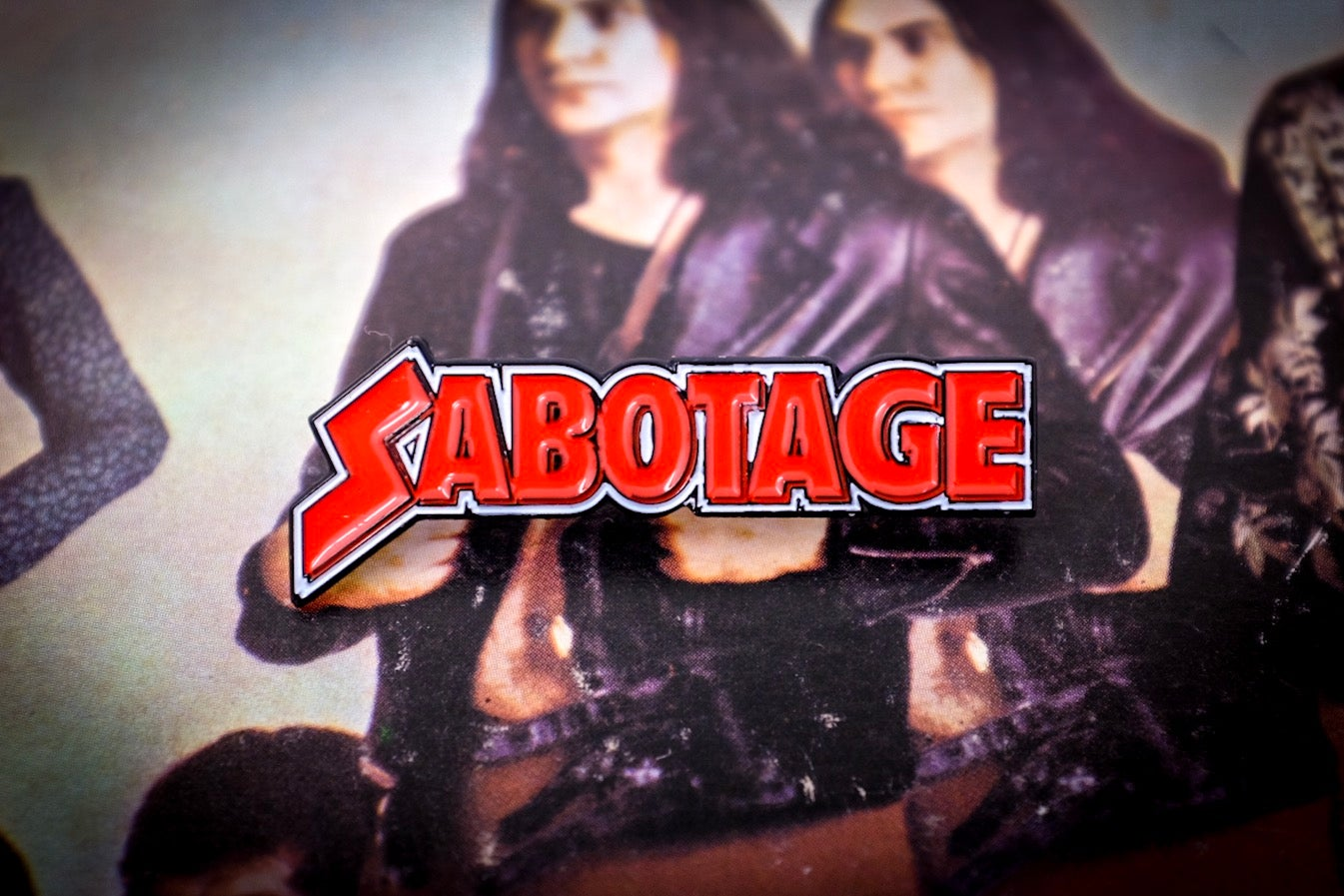 Image of Black Sabbath - Sabotage Enamel Pin