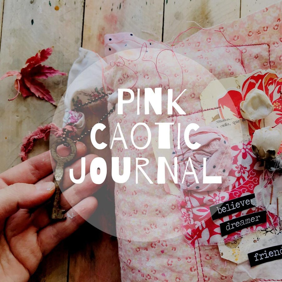 Image of Online workshop : Pink Caotic Journal
