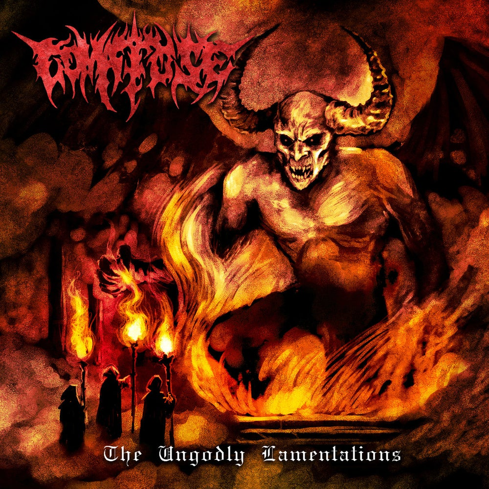 Image of Comatose - The Ungodly Lamentations Pre Order