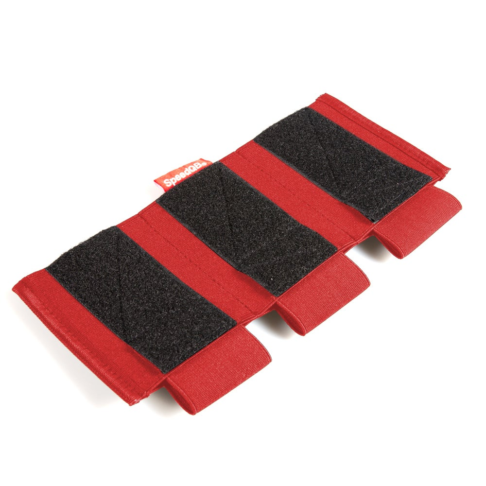 Image of SpeedQB Proton Mag Pouch - Rifle (Triple Stack) - RED