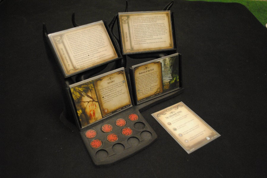 Image of Arkham Horror - Agenda/Act/Doom display
