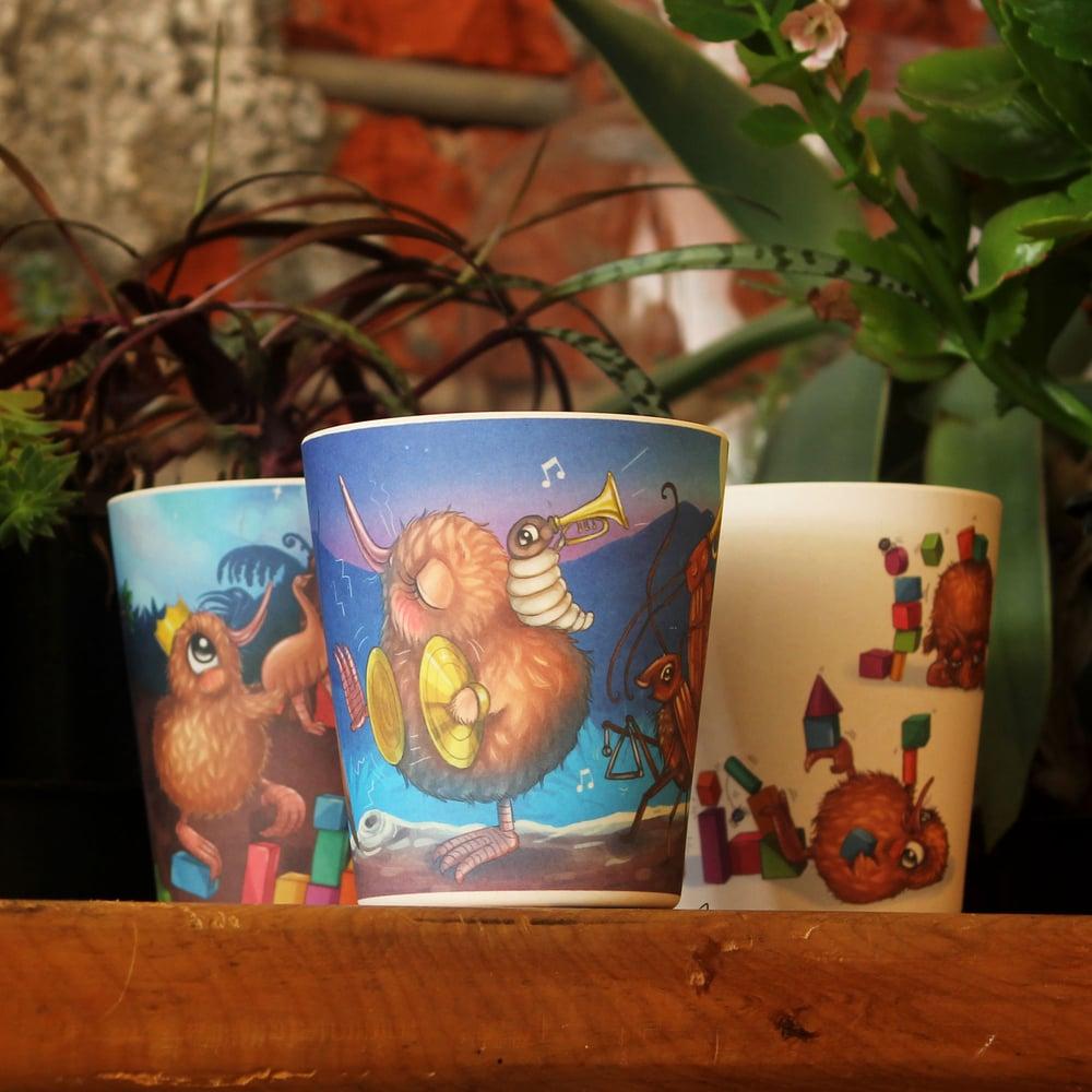 Image of Kuwi Bamboo Fibre Cup Set