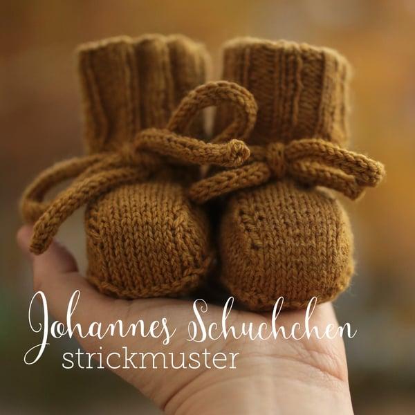 Image of Strickmuster Johannes Schuhchen