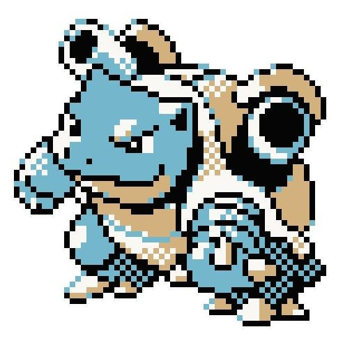 Image of Blastoise Pokemon KIT