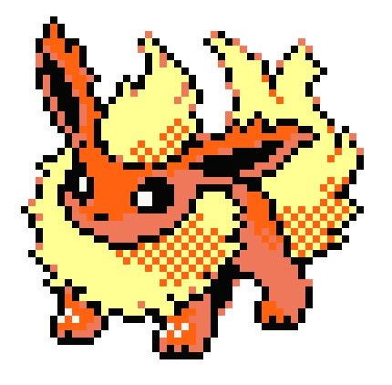 Image of Flareon Pokemon KIT