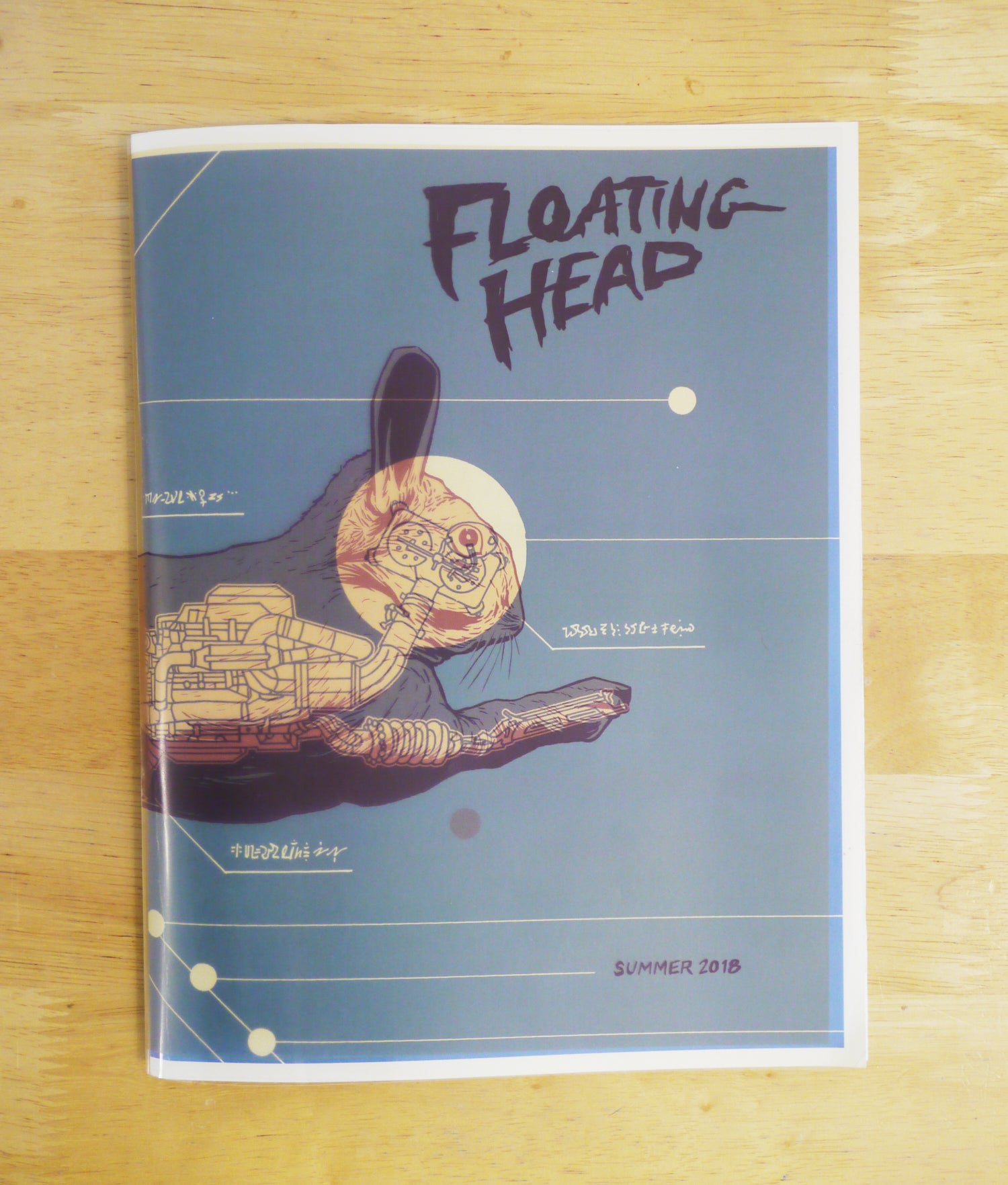 Image of Floating Head #3