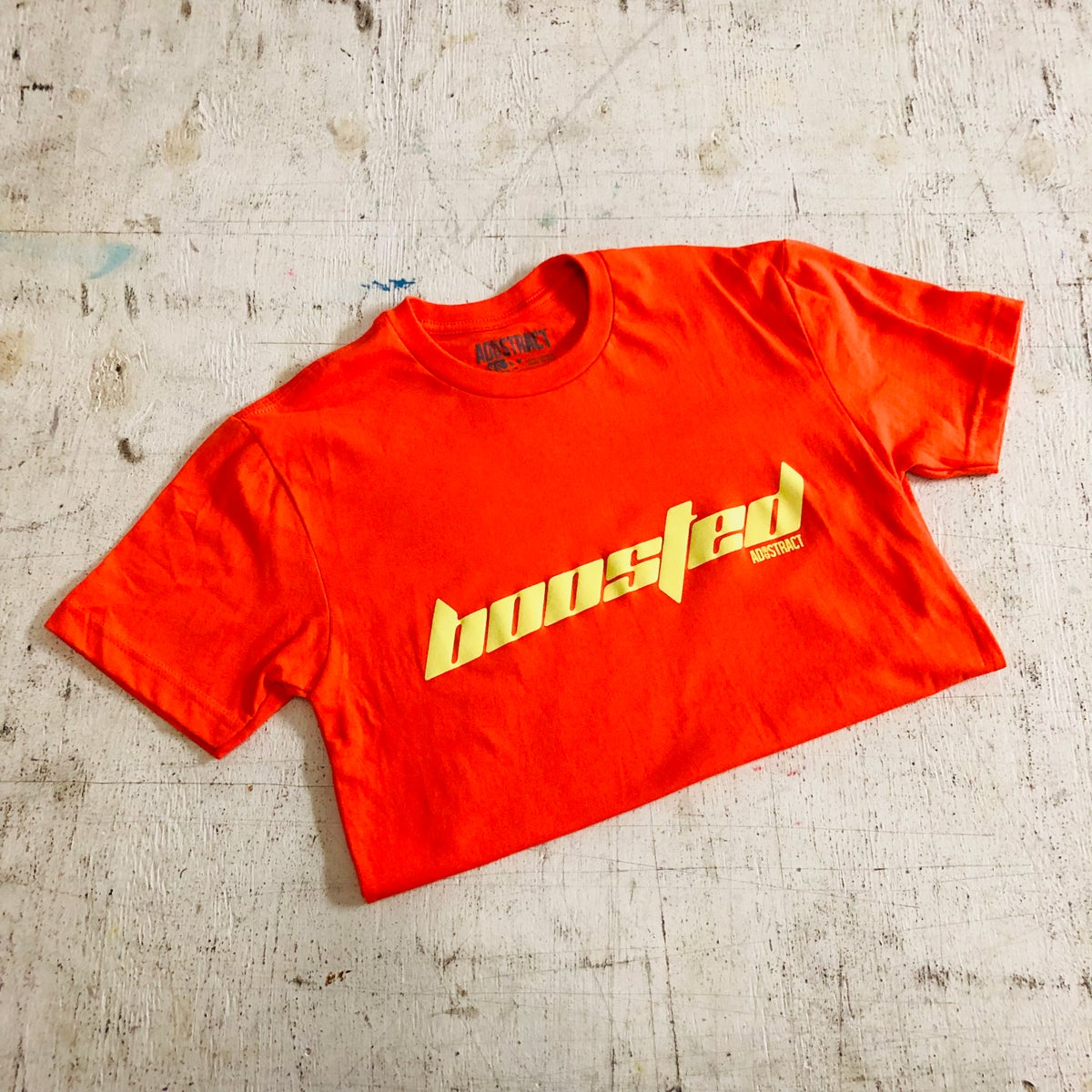 """Image of BOOSTED """"CALABASAS"""" (WAVERUNNER COLORWAY W/ BUTTER PRINT) T-SHIRT"""