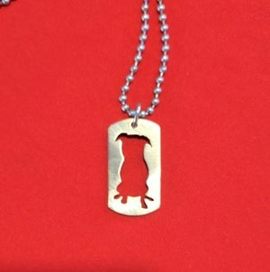 Image of Stainless Steel Custom Stella Dog Tag