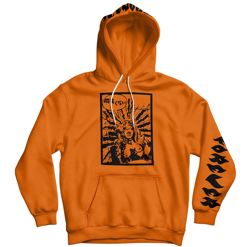Image of NotAfraid | Hoodie - Orange