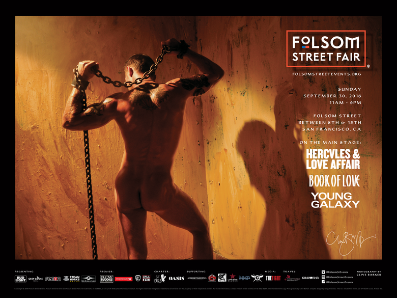 Image of 2018 Folsom Street Events Posters