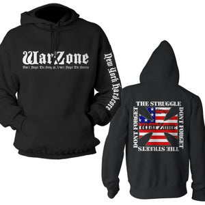 "Image of WARZONE ""Logo - Don't Forget The Struggle"" Hoodie"