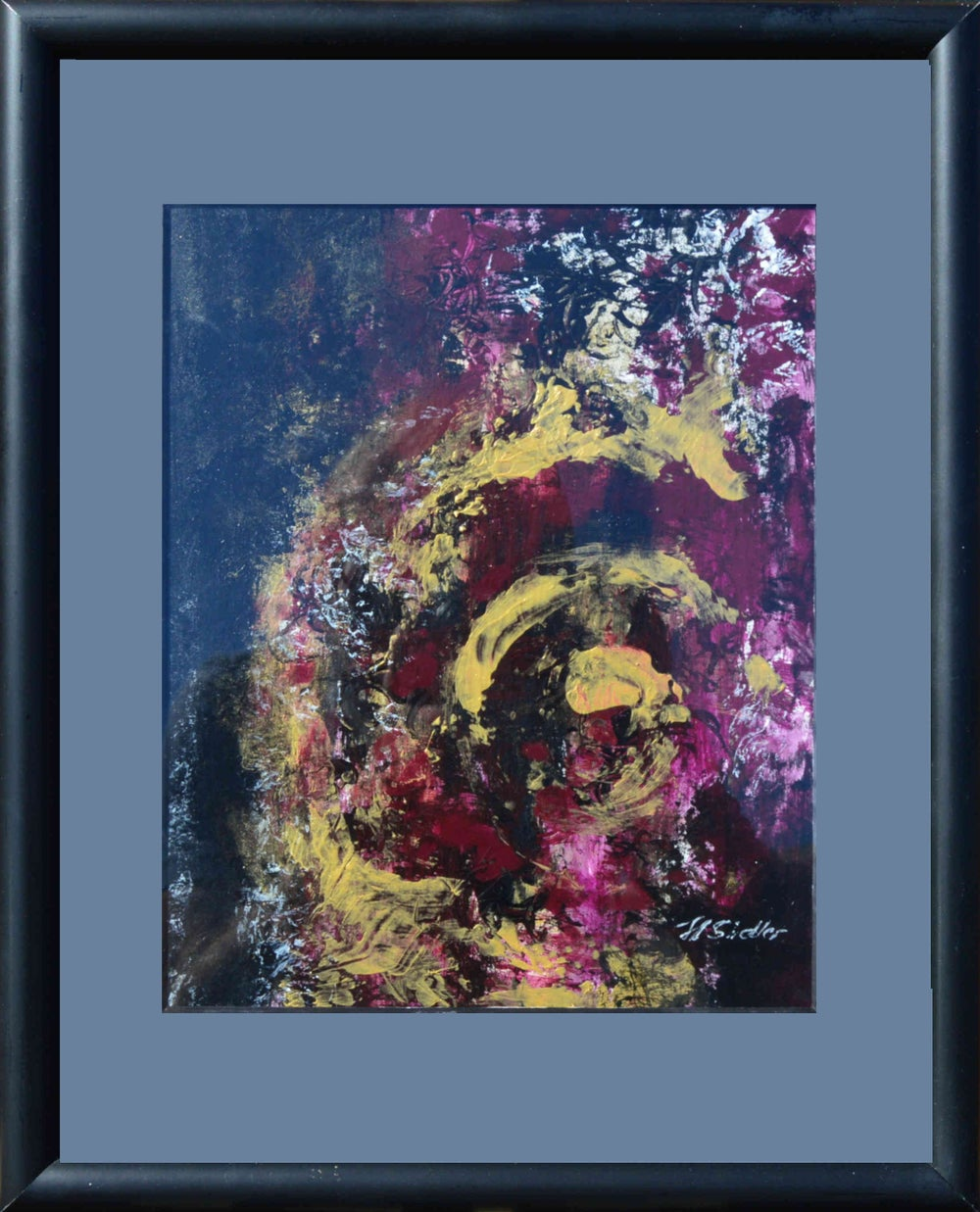 Image of Abstract Gold #2 by Hani Sidler
