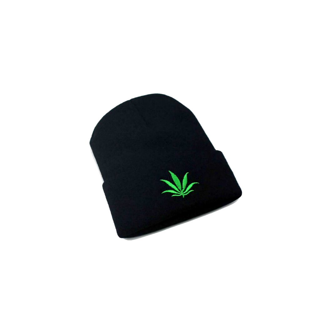 Image of Marijuana Leaf Beanie