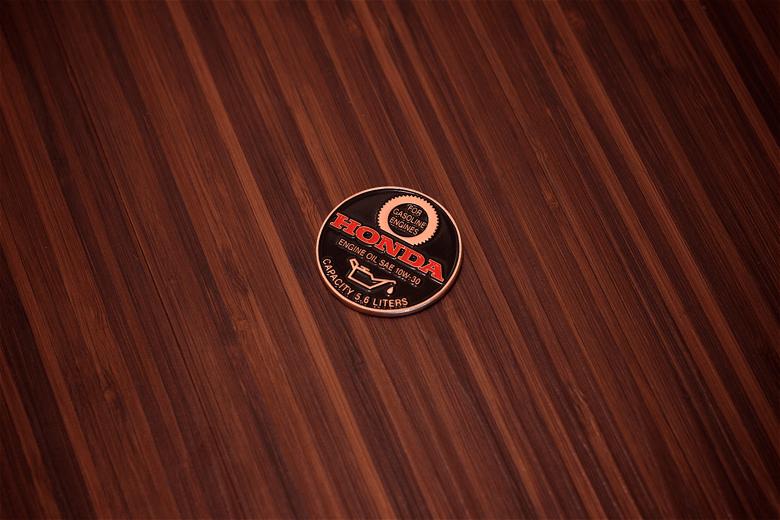 Image of S2000 oil cap coin (10w-30) - satin copper