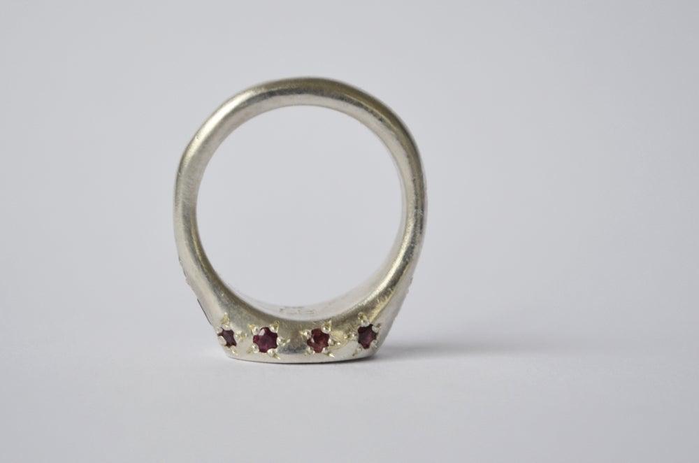 Image of Deep Red Ring