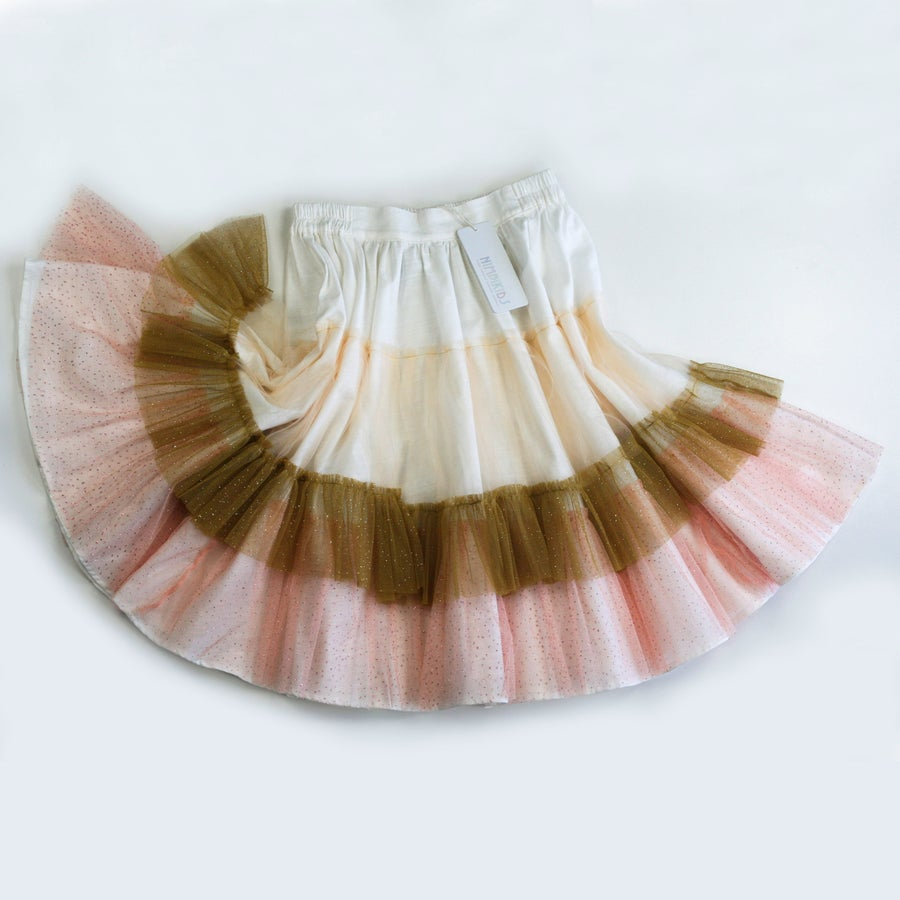 Image of Wonderland Tulle Skirt - Toffee Apple