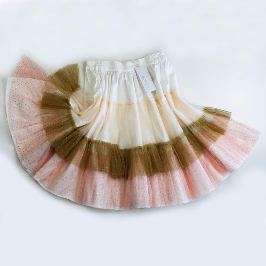 Image of Wonderland Tulle Skirt - Toffee Apple