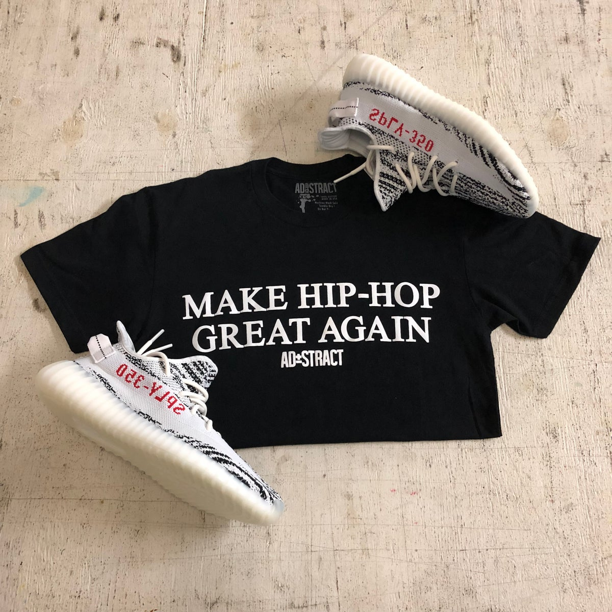 Image of MAKE HIP-HOP GREAT AGAIN TSHIRT & HOODY