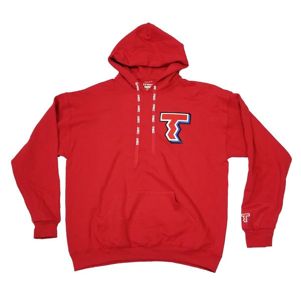 "Image of THIZZ PATCH HOODIE ""RED"""