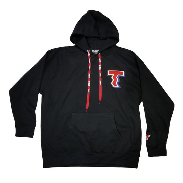 "Image of THIZZ PATCH HOODIE ""BLK"""