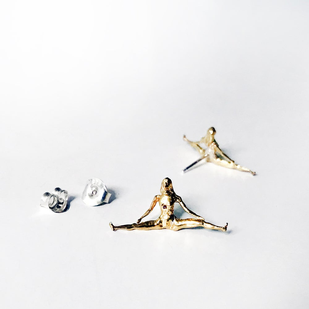 Image of THE SPLITS // STUD EARRING