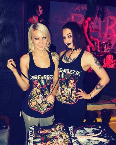 Image of Kore Rozzik Girl Tanks- Red OG/Vengeance