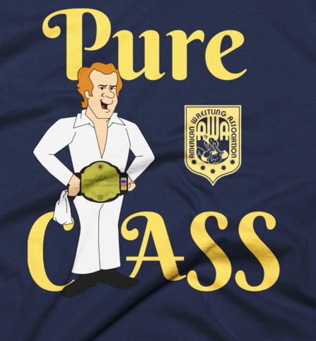 Image of Bockwinkel: Pure Class Act (Navy or Black, American Apparel 2001 Fine Jersey Tee)