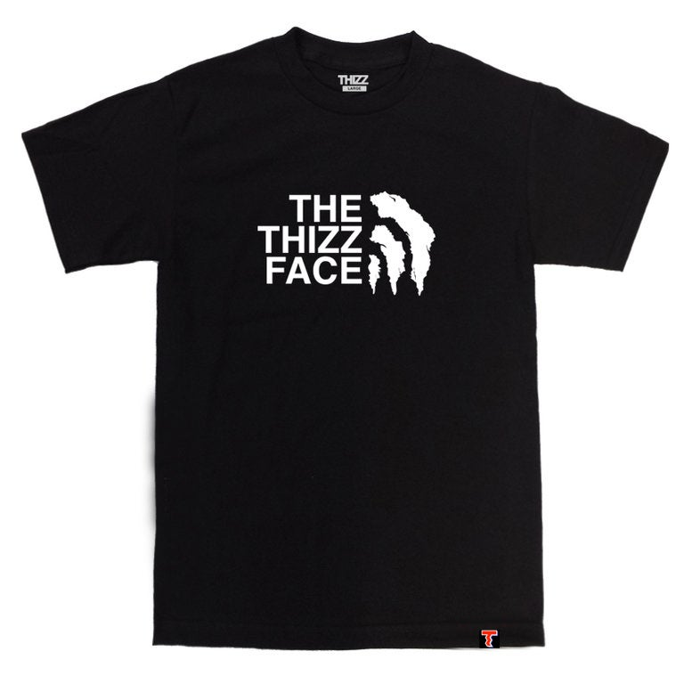 Image of THIZZ FACE - BLACK TEE
