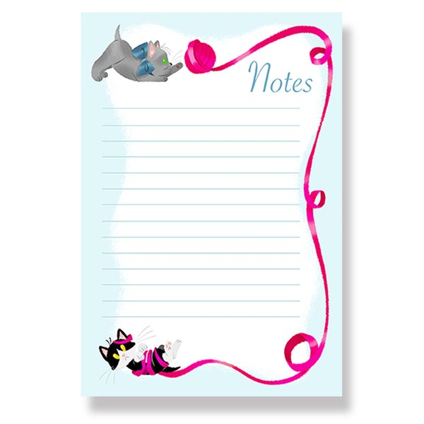 Image of Kitten Notepad