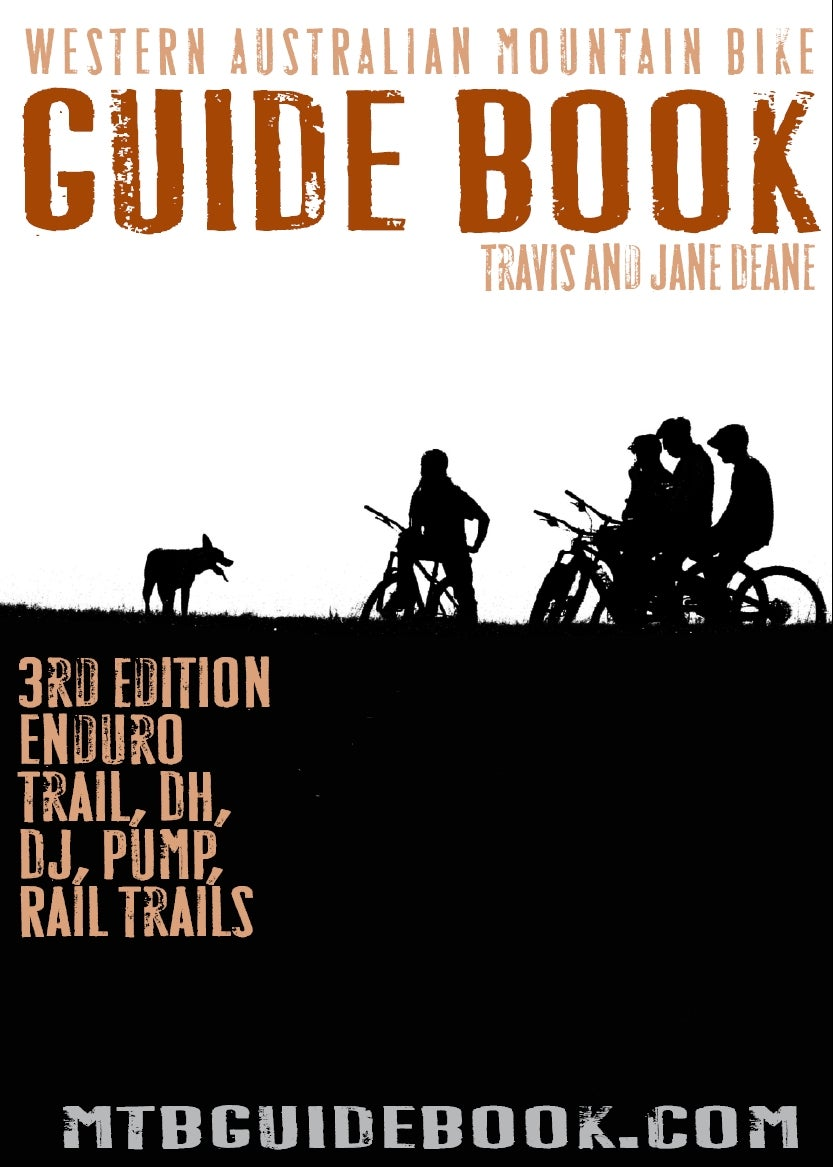 Image of Western Australia MTB Guide Book 3rd Edition