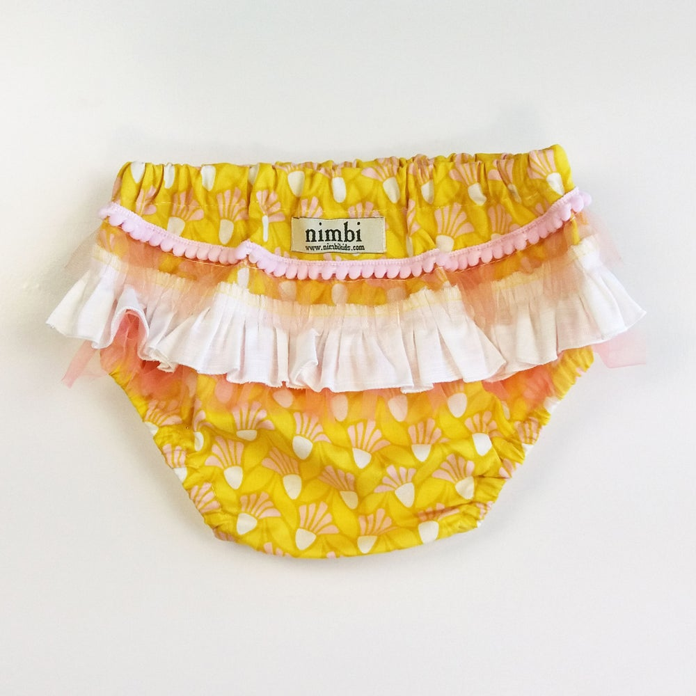 Image of Bambini Ruffled Pilchers - Marigold