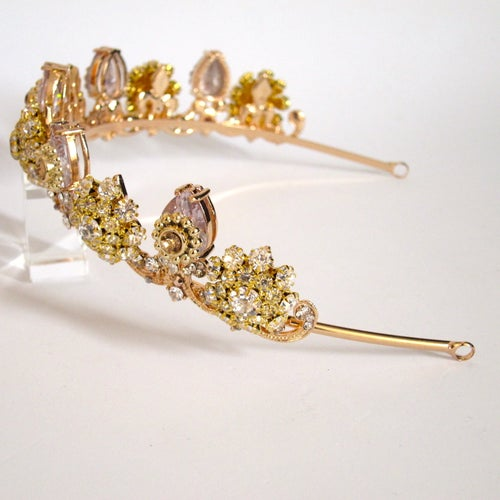 Image of Gilded Duchess tiara