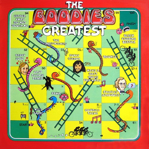 Image of THE GOODIES - THE GOODIES GREATEST CD