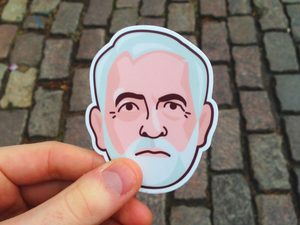 Image of Jeremy Corbyn: Enamel Pin Badges - Made to Order