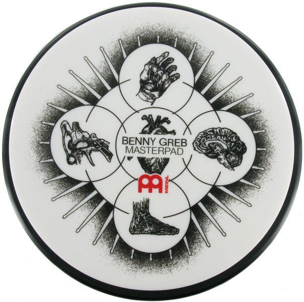 "Image of Meinl 6"" Benny Greb Practice Pad"