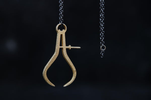 Image of Winter 18 - GT STEEL CALIPER PENDANT