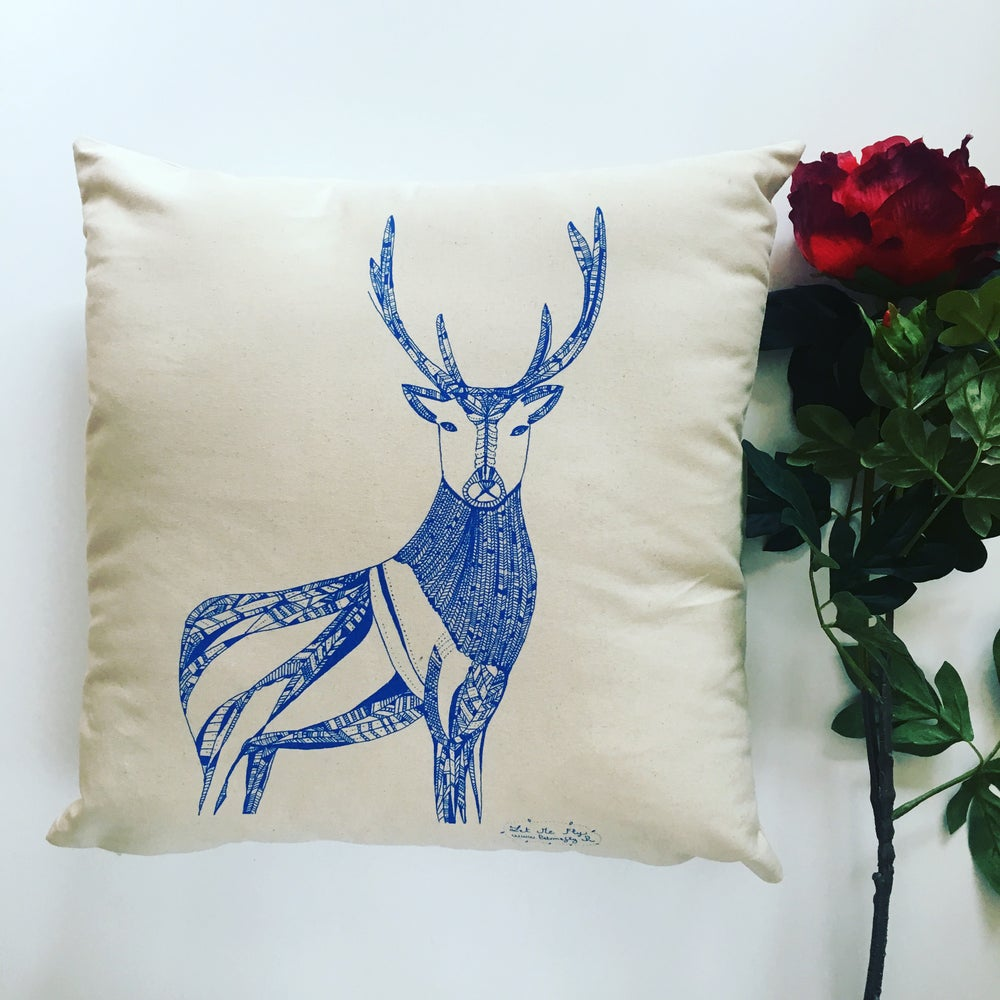 Image of Coussin *Deer* 50 x 50 cm
