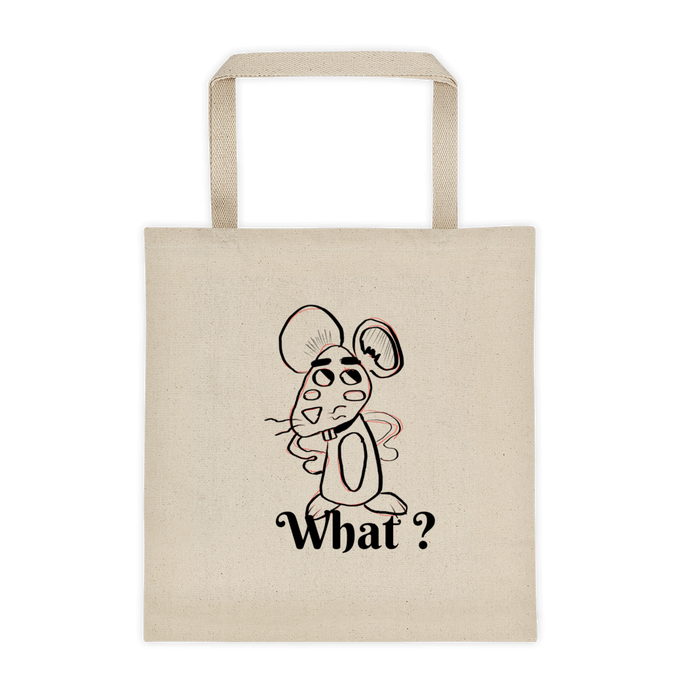 "Image of Grand Totebag -""What?"" Mice"
