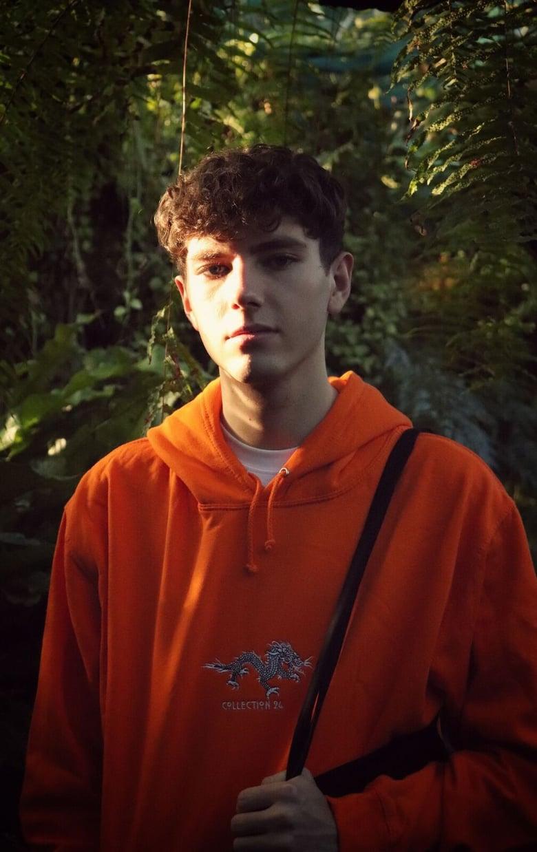Image of Dragon Hoodie Orange