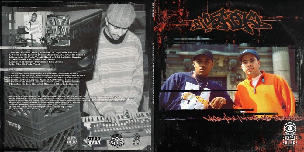 Image of Dj Shok presents Mass Vinyl / Hi Tech 90's unreleased (SOLD OUT)