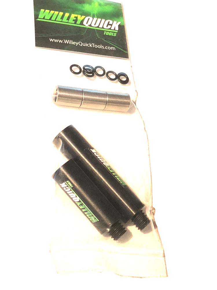 Image of black anodized magnetic extensions