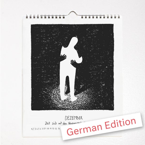 Image of Alles hat seine Zeit – Immerwährender Selbstfindungskalender – OUT OF STOCK / COMING SOON