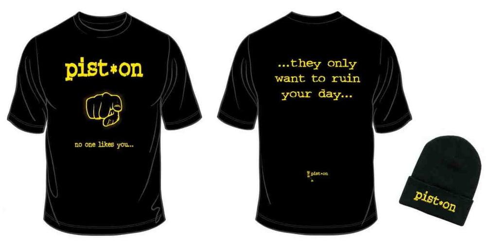 Image of ++ DECEMBER OFFER ++ Pist.On T-Shirt & Beanie Bundle