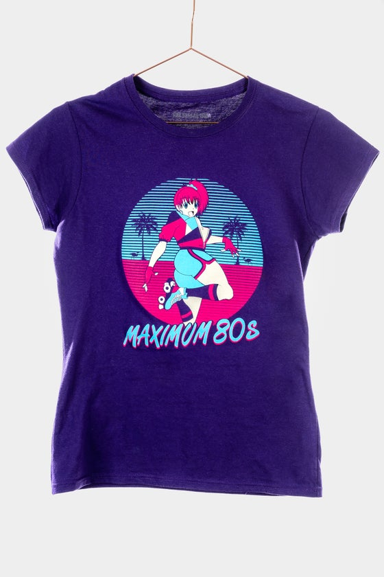 Image of Maximum 80s Ladies Fit T-Shirt