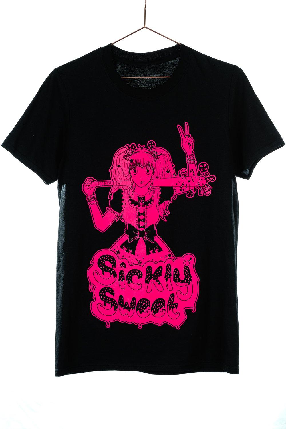 Sickly Sweet Neon Unisex Anime T-Shirt