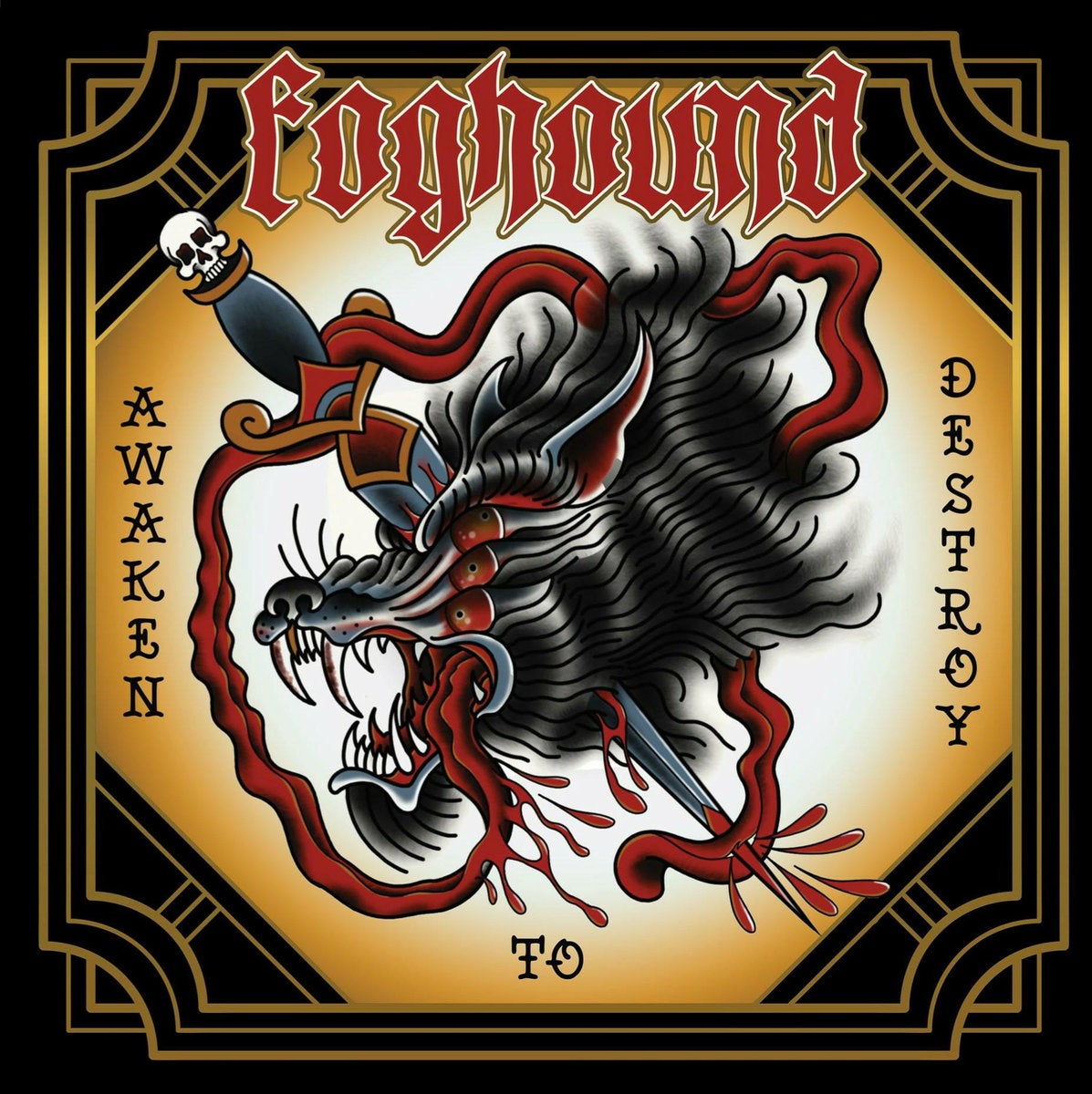 Image of Foghound - Awaken to Destroy CD