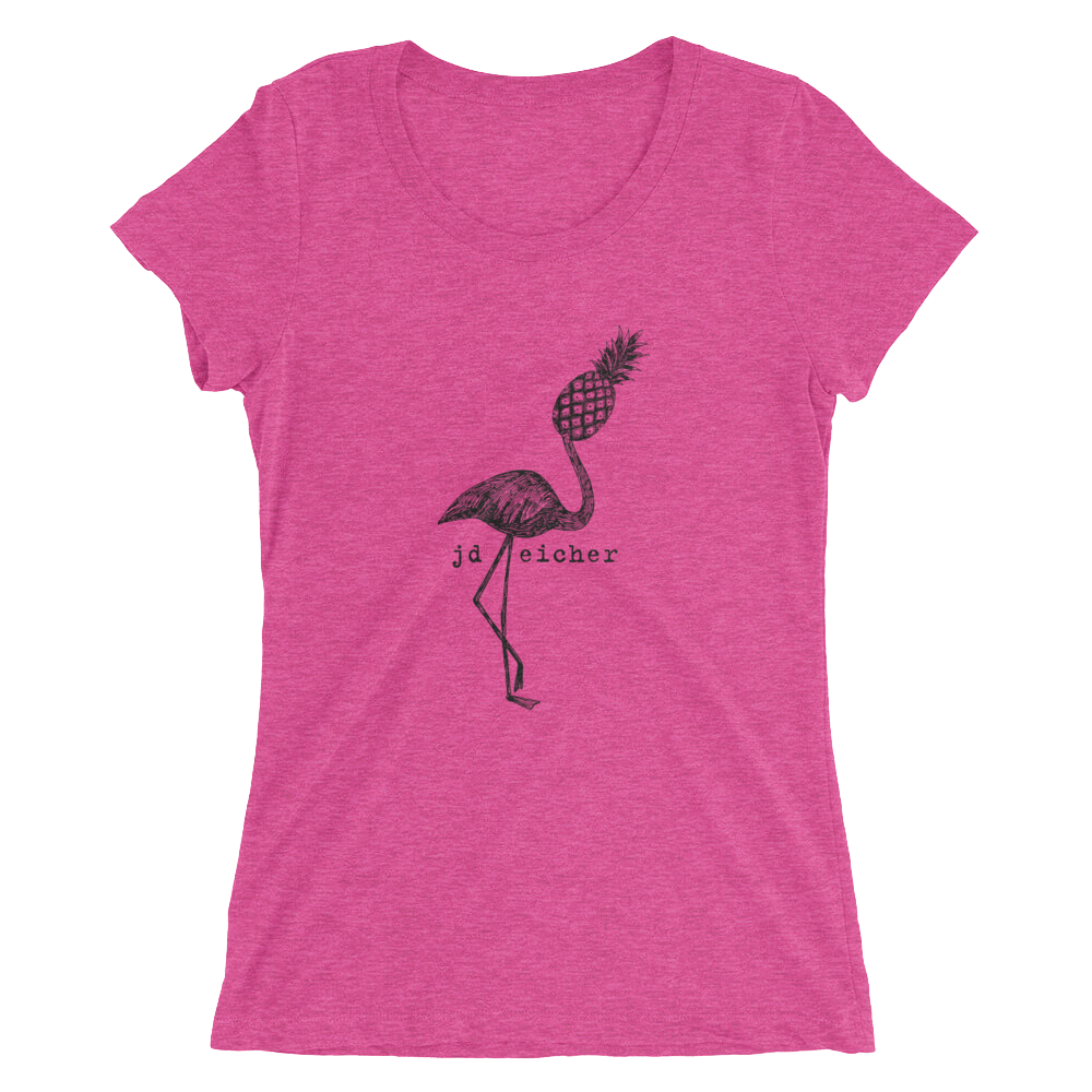 Image of Flamingo T-Shirt (Ladies)