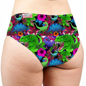 Image of Dinosaurs Low Rise Cheeky Shorts