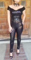 Girl's Night Out Sequins Jumpsuit